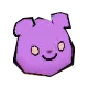 Danganronpa 2 Magical Monomi Minigame Enemies Type 04 Purple