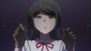 Despair Arc Episode 9 - Mukuro directly tampering with Chisa's brain