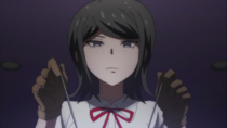 Despair Arc Episode 9 - Mukuro directly tampering with Chisa's brain