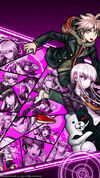 Digital MonoMono Machine Danganronpa 1 Cast iPhone wallpaper