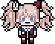 Mukuro Ikusaba School Mode Pixel Icon (1)