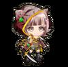 Sengoku Asuka Zero x Danganronpa 3 Chiaki Nanami Sprite
