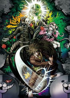 File:Danganronpa V3 Preorder Bonus Can Badge Art from GameShop.png