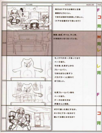 Danganronpa Visual Fanbook Cutscene Storyboards (05)