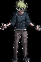 Danganronpa V3 Rantaro Amami Fullbody Sprite (6)