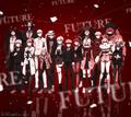 Digital MonoMono Machine Danganronpa 3 Side Future Cast Android wallpaper