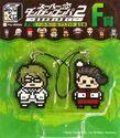 FuRyu Minna no Kuji Dot Rubber Mascots Ultimate Imposter and Teruteru Hanamura