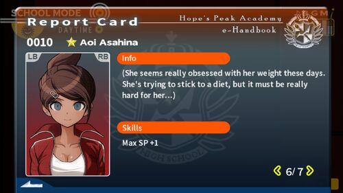 Aoi Asahina Report Card Page 6