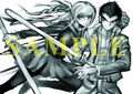 Danganronpa 1.2 Reload Preorder Bonus Clearfile and Towel from Stella Worth (Sketch)