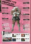 Danganronpa 1 Sakura Ogami Character Design Profile Danganronpa 1.2 Art Book