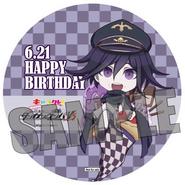 Chara-Cre x Danganronpa V3 Collab Kokichi Oma Coaster 2