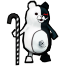 Danganronpa 2 Magical Monomi Minigame Enemies Secret Boss Monokuma