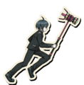 Danganronpa V3 Shuichi Saihara Death Road of Despair Sprite (Hammer) 08