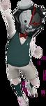 Monokuma Kid Male Fullbody 3D Model