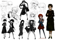 Toko Fukawa Beta Designs 1.2 Reload Artbook