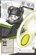 Art Book Scan Danganronpa V3 Ryoma Hoshi Profile