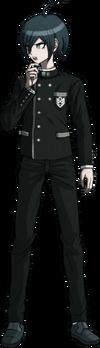 Danganronpa V3 Shuichi Saihara Fullbody Sprite (No Hat) (6)