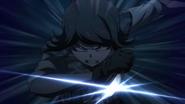 Despair Arc Episode 6 - Mukuro attacking Izuru Kamukura (2)