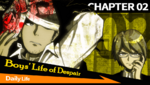 Danganronpa 1 CG - Chapter Card Daily Life (Chapter 2)