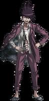 Danganronpa V3 Kaito Momota Fullbody Sprite (24)