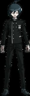 Danganronpa V3 Shuichi Saihara Fullbody Sprite (No Hat) (27)