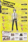 Danganronpa 2 Hajime Hinata Character Design Profile Danganronpa 1.2 Art Book