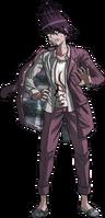 Danganronpa V3 Kaito Momota Fullbody Sprite (12)