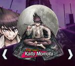 Kaito Momota Danganronpa V3 Official English Website Profile (Mobile)