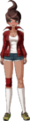 Danganronpa 1 Aoi Asahina Fullbody Sprite (PSP) (8)