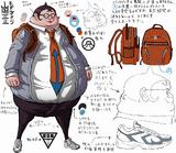 Danganronpa 1 Character Design Profile Hifumi Yamada