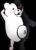 Danganronpa 2 Monokuma Fullbody Sprite (PSP) (14)