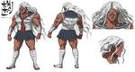 Danganronpa The Animation Design Profile Sakura Ogami