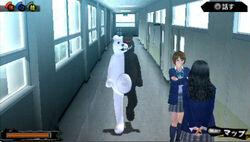 Gachitora Monokuma Costume 03