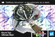 Danganronpa V3 Bonus Mode Card Kirumi Tojo U ENG