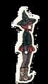 Danganronpa V3 Himiko Yumeno Death Road of Despair Sprite 01