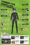 Art Book Scan Danganronpa V3 Shuichi Saihara Character Profiling