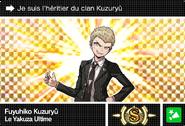 Danganronpa V3 Bonus Mode Card Fuyuhiko Kuzuryu S FR