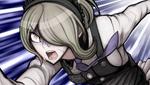 Danganronpa V3 CG - Kirumi Tojo trying to escape her execution (2)
