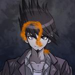 Danganronpa V3 Kaito Momota Death Portrait (Question Mark)