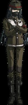 Danganronpa V3 Korekiyo Shinguji Fullbody Sprite (14)