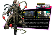 Korekiyo Shinguji Danganronpa V3 Official Japanese Website Profile