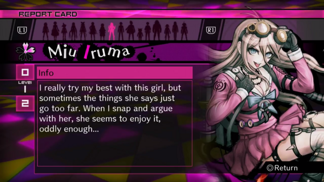 File:Miu Iruma Report Card Page 1 (For Kaede).png