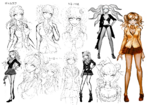 Junko Enoshima Beta Designs 1.2 Reload Artbook