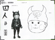 Art Book Scan Danganronpa V3 Character Designs Betas Ryoma Hoshi (8)