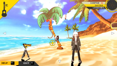 Danganronpa 2 MonoMono Machine Yachine Beach