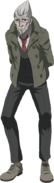 Danganronpa 3 - Fullbody Profile - Kazuo Tengan