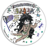 GraffArt Can Badge Gonta Gokuhara