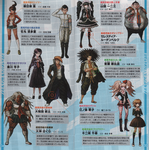 Danganronpa 1 Japanese PSP Booklet 02