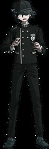 Danganronpa V3 Shuichi Saihara Fullbody Sprite (Hat) (4)