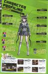 Art Book Scan Danganronpa V3 Tenko Chabashira Character Profiling